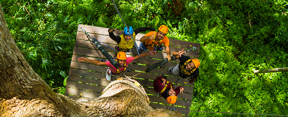 Patong Zipline Adventure : At heart of tropical rain forest