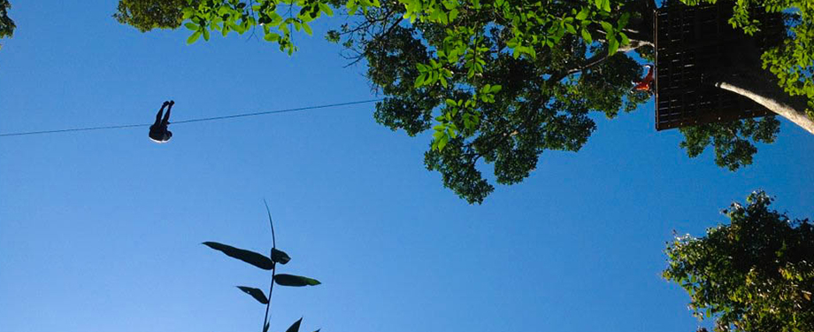 Patong Zipline Adventure : Sky reached