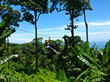 Patong Zipline Adventure : Breathe taken scenery of jungle and the sea