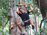 Jungle Xtrem Adventures Park : Swing like a monkey